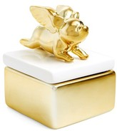 Shiraleah Flying Pig Trinket Box - Metallic