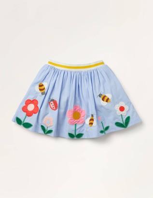 Scene Applique Skirt