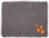 Jonathan Adler Orange/Grey Drip Placemat
