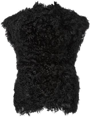 Isabel Marant Black Shearling Jackets