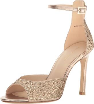 Pelle Moda Women's Erica Dress Sandal Platinum Gold 6 B US