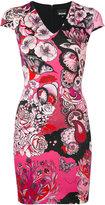 Just Cavalli floral print dress