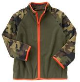 Crazy 8 Camo Microfleece Jacket