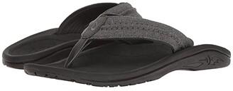 OluKai Hokua Mesh (Dark Shadow) Men's Sandals