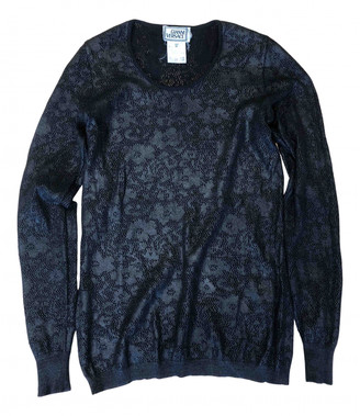 Gianni Versace Black Wool Tops