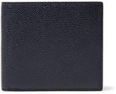 Thom Browne Pebble-grain Leather Billfold Wallet - Navy
