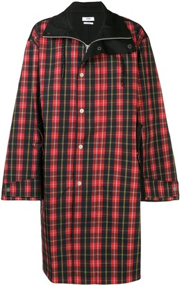 Cmmn Swdn Button Check Coat
