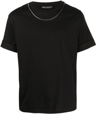 Neil Barrett necklace T-shirt