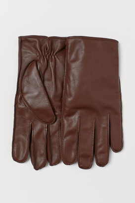 H&M Leather smartphone gloves