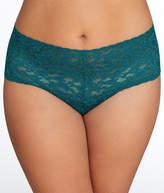 Hanky Panky Plus Size Signature Lace Retro Thong Panty - Women's