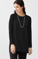 J. Jill Wearever Seamed Crew-Neck Tunic