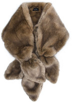 Simone Rocha double bow faux fur scarf