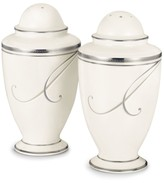 Noritake Dinnerware, Platinum Wave Salt and Pepper Shakers