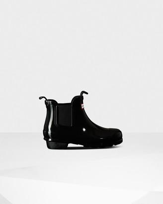 Hunter Original Big Kids Gloss Chelsea Boots