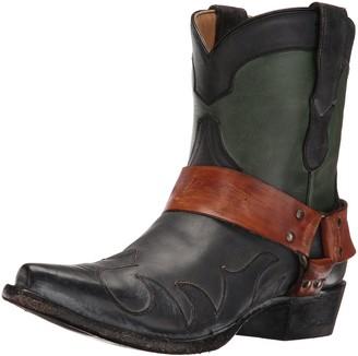 Stetson Women's Jade Western Boot Green 11 D US