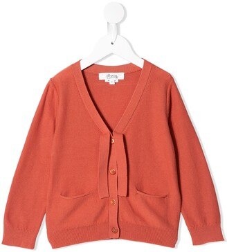 Bonpoint V-Neck Buttoned Cardigan