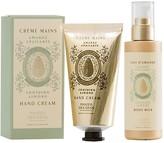 Panier des Sens Sweet Almond Hand Cream & Body Milk 2-Piece Set