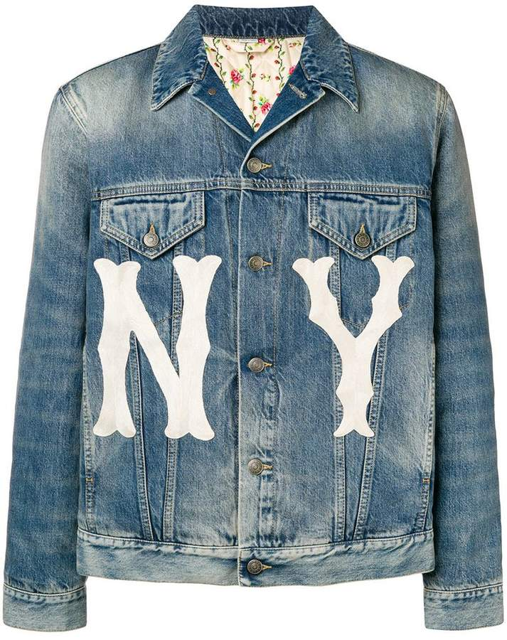 5478640bc05d Gucci(グッチ) ブルー メンズ ジャケット&ブルゾン - ShopStyle(ショップスタイル)