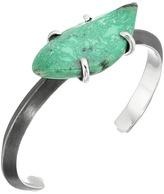 King Baby Studio Wire Cuff w/ Natural Turquoise Bracelet Bracelet
