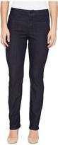 NYDJ Petite - Petite Size Sheri Slim Leg Denim in Dark Enzyme Women's Jeans