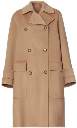Burberry Cashmere Double-Faced Coat