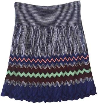 M Missoni Blue Skirt for Women