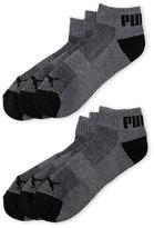 Puma 6-Pack Quarter Crew Socks