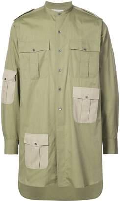 J.W.Anderson collarless shirt