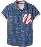 Quiksilver New Merica Short Sleeve Shirt Boy's Short Sleeve Button Up