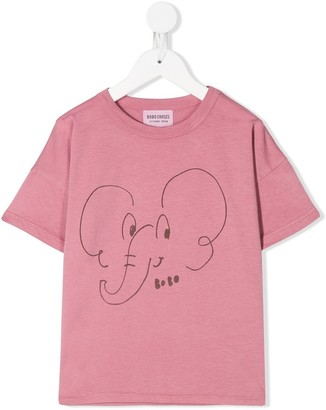 Bobo Choses Elephant sketch T-shirt