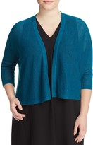 Eileen Fisher Plus Cropped Cardigan