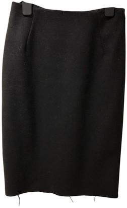 Acne Studios Navy Wool Skirt for Women
