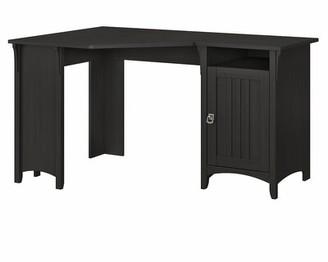 Three Posts Salina Reversible L-Shape Desk Color: Vintage Black