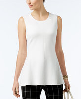 Alfani Milano Peplum Top, Only at Macy's