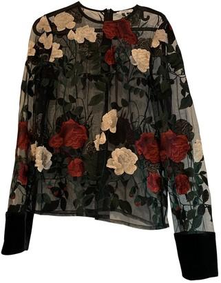Ganni Black Polyester Tops