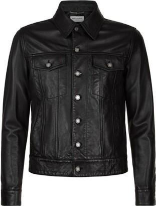 Saint Laurent Leather Jacket