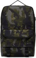 Diesel Green Camo F-Close Backpack
