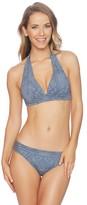 Athena Henna Chambray Kalena Halter Bikini Top