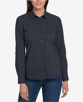 Tommy Hilfiger Cotton Utility Shirt, Created for Macy's