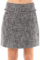Michael by Michael Kors Tweed Mini Skirt