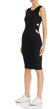 Helmut Lang Cutout Bodycon Midi Dress