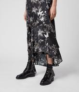AllSaints Tage Silk Blend Evolution Dress