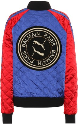 Puma x Balmain reversible track jacket