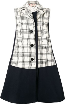 Marni Bi-Coloured Compact Wool Vest