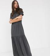 Asos Tall DESIGN Tall t-shirt maxi dress with dropped hem