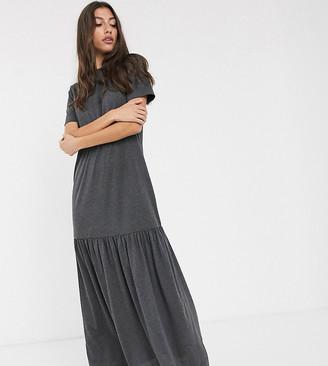 Asos DESIGN Tall t-shirt maxi dress with dropped hem