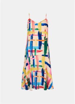 Essentiel Antwerp Varah Slip Dress Multi - 10