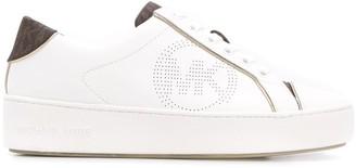 MICHAEL Michael Kors Perforated Logo 40mm Platform Sneakers