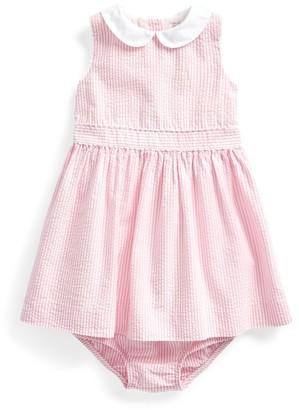 Ralph Lauren Seersucker Dress & Bloomer