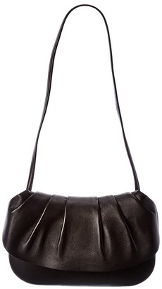The Row Fan 10 Leather Shoulder Bag